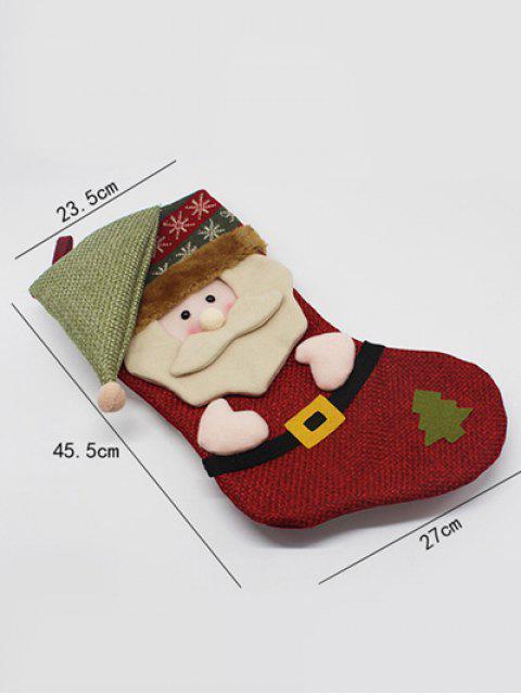 shops Christmas Santa Hanging Kids Candy Sock -   Mobile