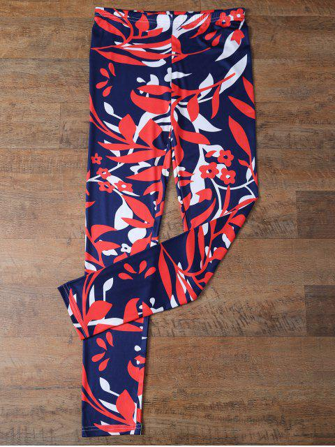 new Flower Leggings - FLORAL XL Mobile