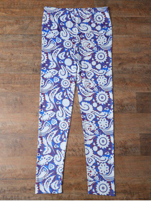new Plant Printed Leggings -   Mobile