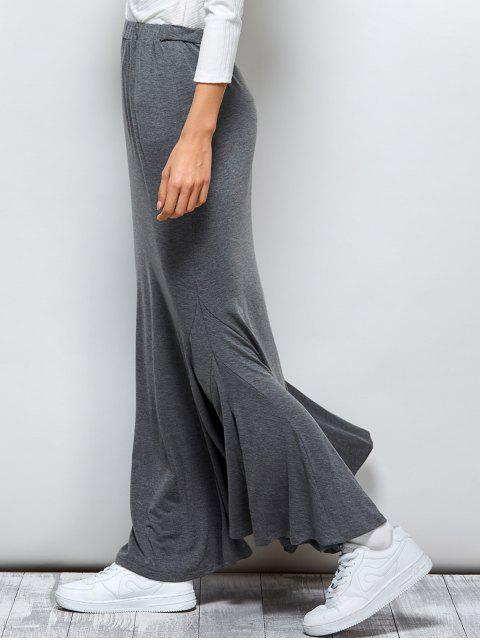outfit Exotic Maxi Mermaid Skirt - GRAY XL Mobile