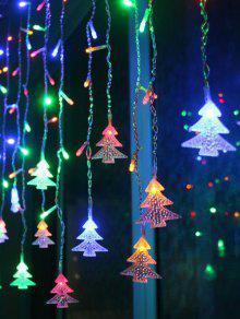 زينة الغرفة الداخلية ضوء الشريط كشجرة كريسماس