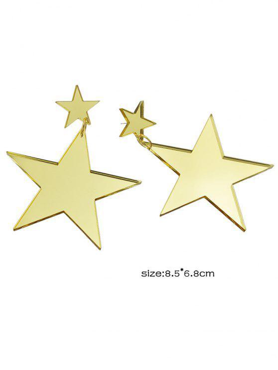 Star Earrings - Golden