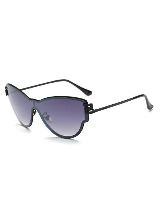 outfits Butterfly Wrap Sunglasses - DEEP PURPLE