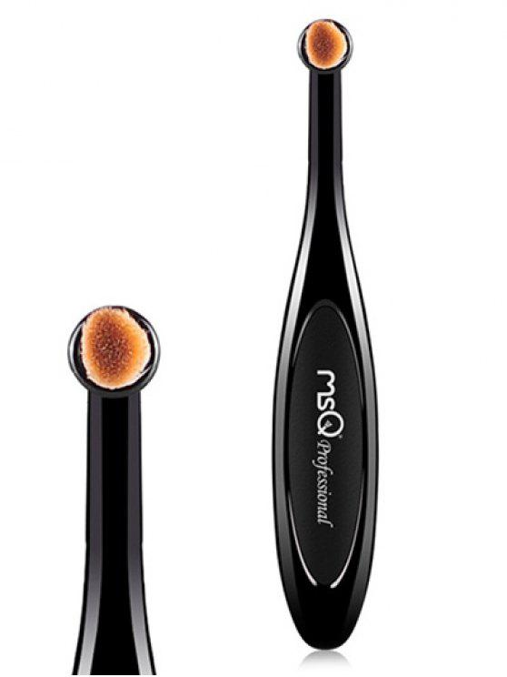 outfits Toothbrush Shape Eyeshadow Brush - BLACK