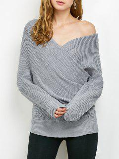 Wrap Frontal Jersey - Gris