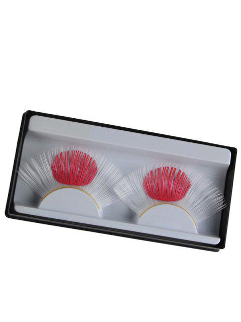best Japan Flag False Eyelashes - WHITE  Mobile