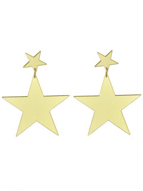 womens Star Earrings -   Mobile