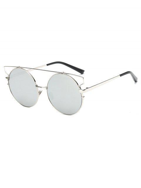 Cross barra redonda con espejo gafas de sol - Plata  Mobile