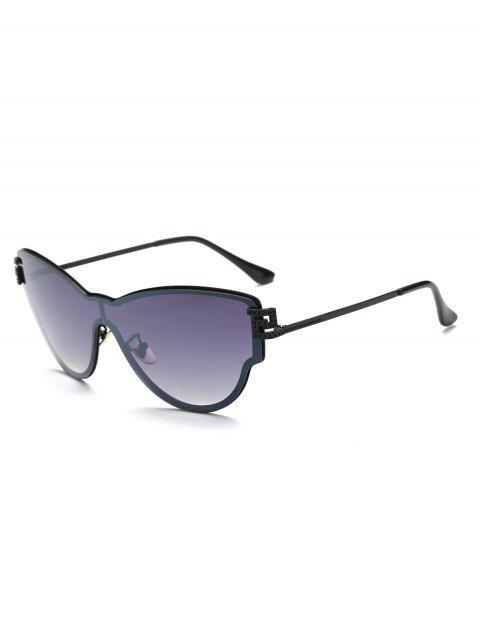 lunettes de soleil en forme de papillon - Violet Foncé  Mobile