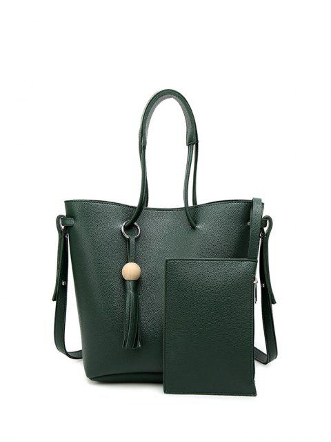 new Tassel Shoulder Bag With Wristlet -   Mobile