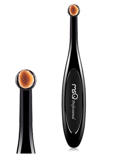 outfits Toothbrush Shape Eyeshadow Brush - BLACK  Mobile