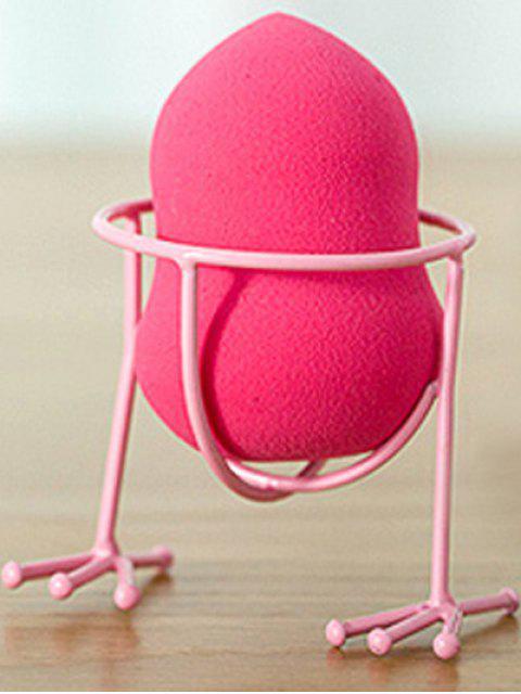 womens Makeup Sponge Holder Makeup Sponge Drying Stand - PINK  Mobile
