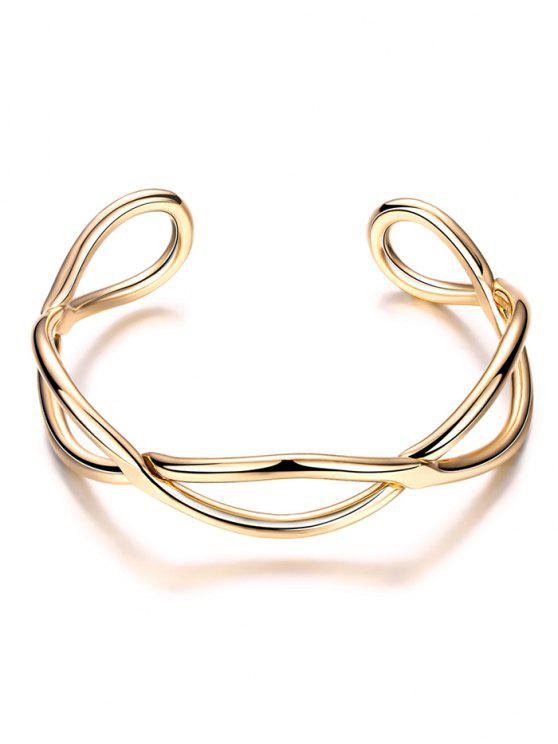 fashion Infinite Glod Plated Bracelet - GOLDEN