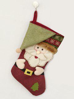 Christmas Santa Hanging Kids Candy Sock