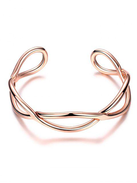 chic Infinite Glod Plated Bracelet -   Mobile