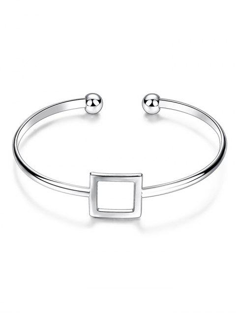 sale Square Hollowed Bracelet -   Mobile