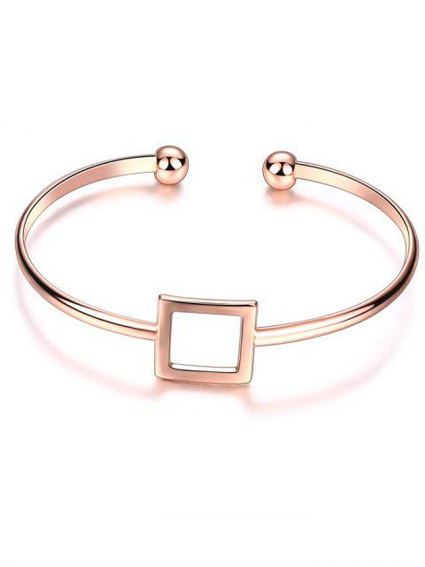 buy Square Hollowed Bracelet -   Mobile