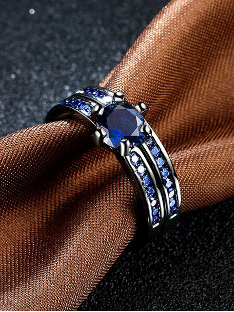 best 2PCS Rhinestoned Rings -   Mobile