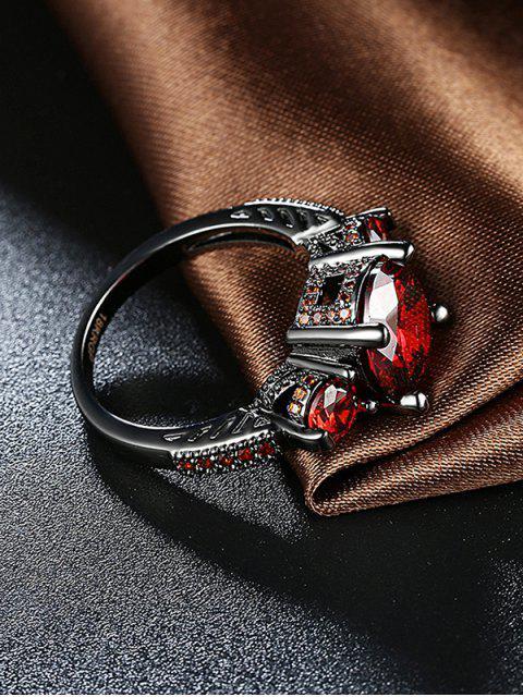 online Vintage Faux Gemstone Ring -   Mobile