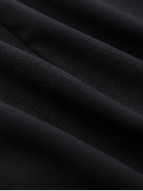 fashion Baby Carrier Hooded Kangaroo Jacket - BLACK 2XL Mobile