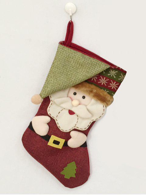 shops Christmas Santa Hanging Kids Candy Sock -   Mobile
