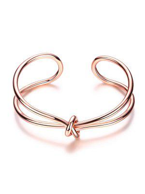 Bracelet forme de nœud infini