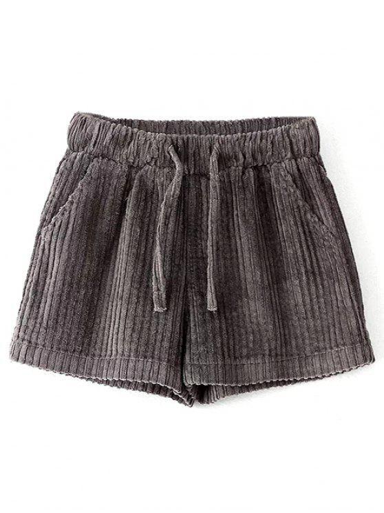 Invierno pana Pantalones cortos - Gris M