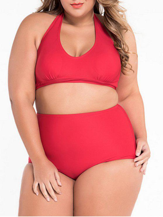 Bikini de dos piezas - Rojo 2XL