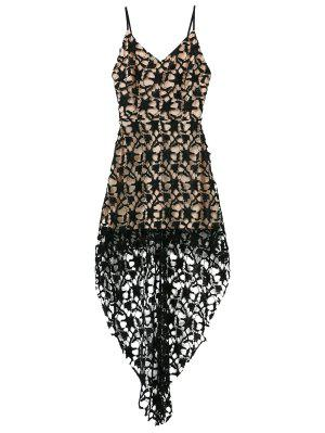 High Low Crochet Dress