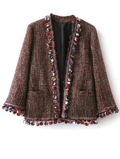 Pompom Tweed Jacket