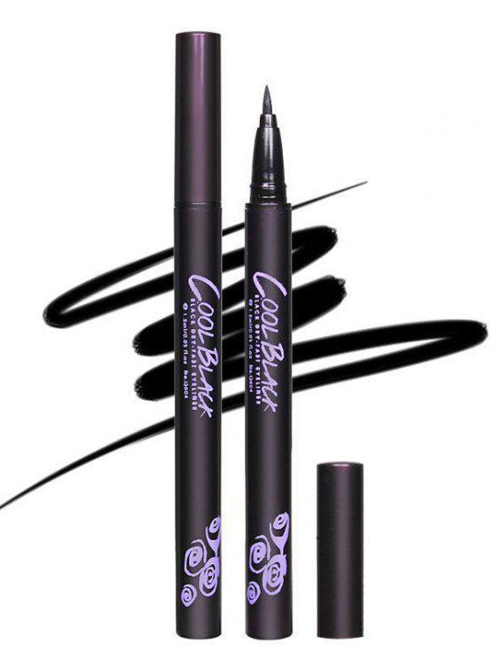 fancy 12 Pcs Liquid Eyeliner Pencils - BLACK