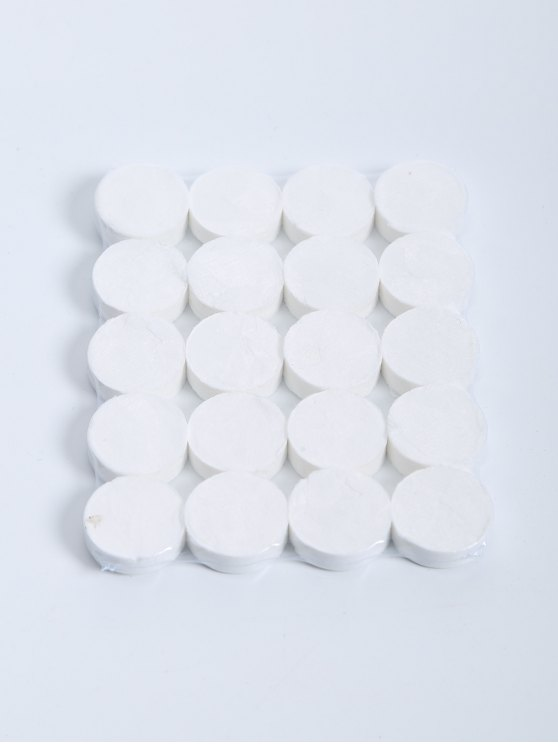 new 20 Pcs Compressed Facial Cotton Mask - WHITE