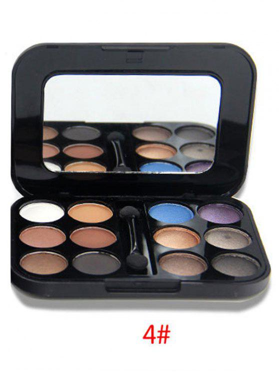 buy Shimmer Matte Eyeshadow Kit - #04