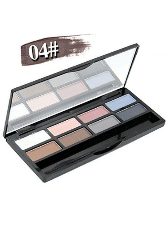 lady Mineral Shimmer Matte Eyeshadow Kit - #04