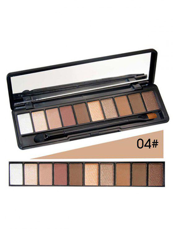 Kit Shimmer Matte Pó Eyeshadow - 04#