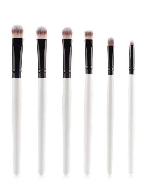 Pinceaux Maquillage des yeux - Blanc