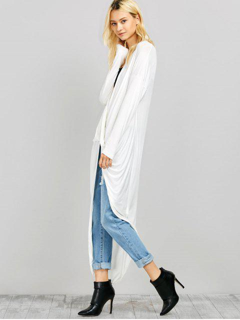 online Twist Front High Low Top - WHITE S Mobile