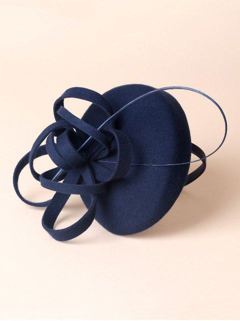 new Wool Spiral Band Cocktail Hat -   Mobile