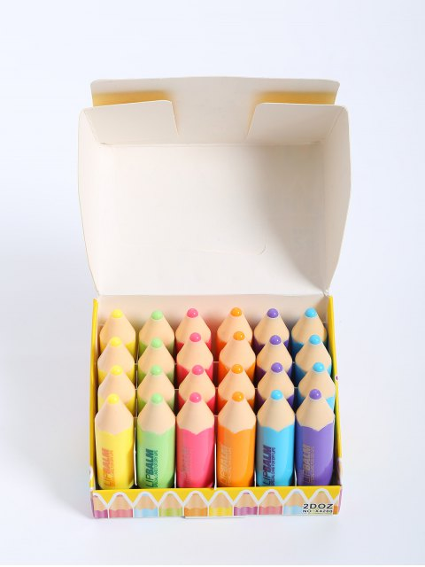 24 PC-Crayon Lippenbalsam - COLORMIX   Mobile