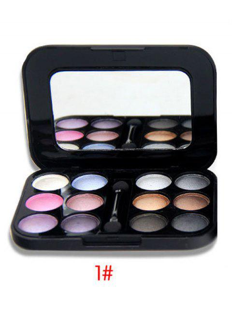 unique Shimmer Matte Eyeshadow Kit -   Mobile