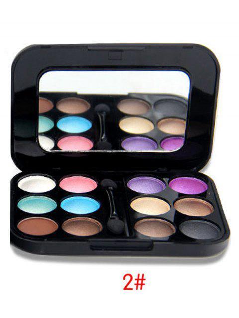 sale Shimmer Matte Eyeshadow Kit - #02  Mobile