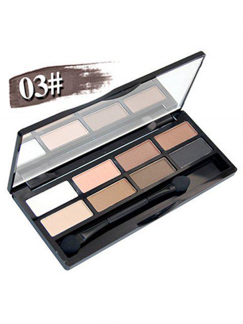 ladies Mineral Shimmer Matte Eyeshadow Kit - #03  Mobile
