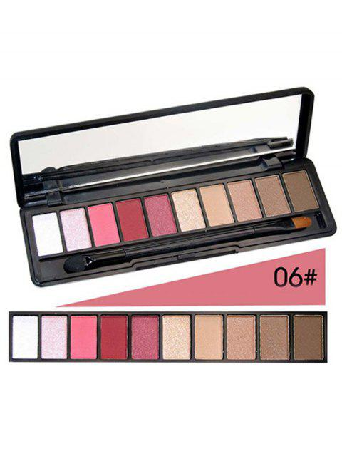 fashion Shimmer Matte Powder Eyeshadow Kit - #06  Mobile