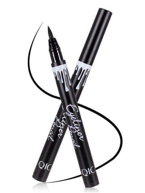 chic 12 Pcs Waterproof Liquid Eyeliner Pencils - BLACK  Mobile