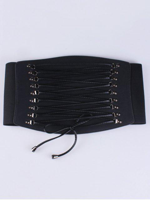 buy Criss Cross Elastic Corset Belt -   Mobile