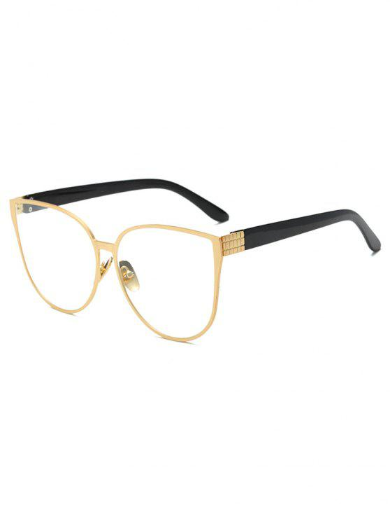 Oversized Butterfly Sunglasses - Dourado