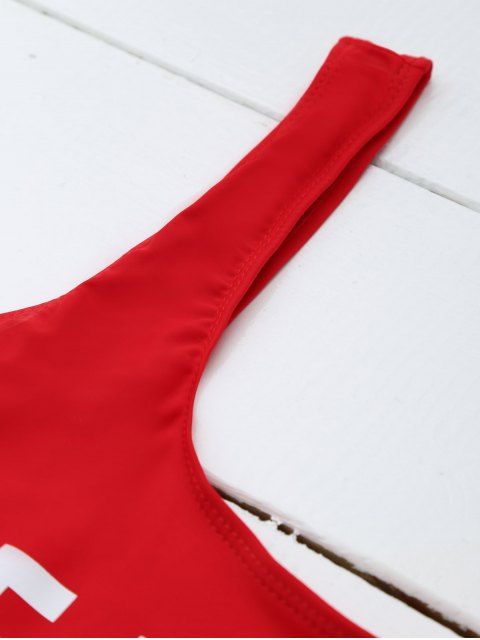 shop If Lost Letter Swimwear - RED S Mobile