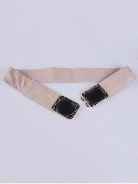 ladies Faux Opal Elastic Waist Belt -   Mobile