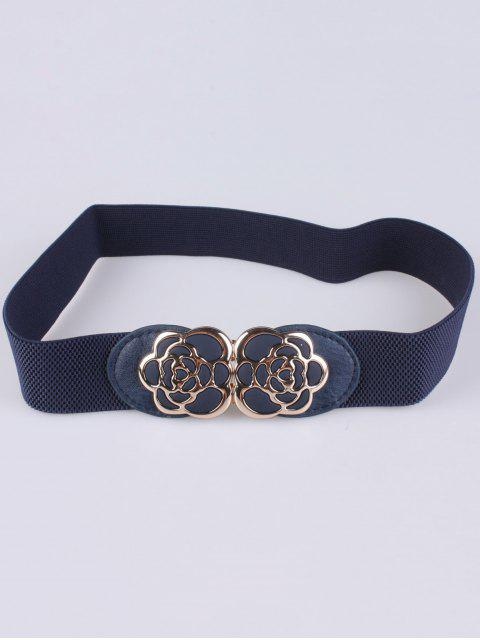 shop Rose Carve Elastic Waist Belt -   Mobile