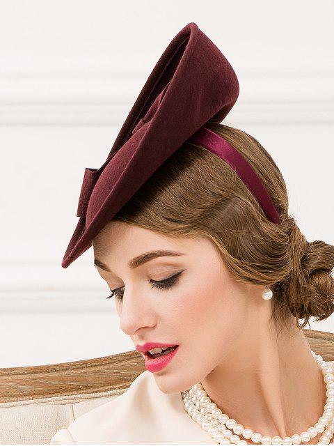 fancy Bowknot Fascinator Cocktail Hat -   Mobile